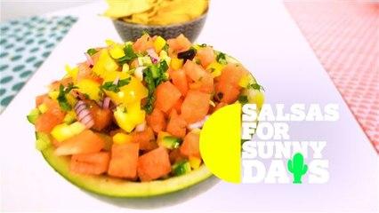 Salsas for Sunny Days: Fresh watermelon salsa