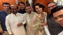 Karan Johar And Kangana Ranaut Attend PM Modis Swearing In Ceremony Together