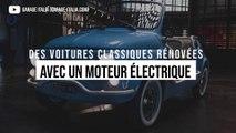 Les voitures vintages deviennent des véhicules électriques dans ce garage révolutionnaire