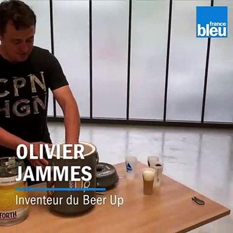 Un Landais a inventé une tireuse à bière portable et réfrigérée : Beer Up