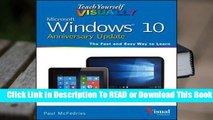 Full E-book Teach Yourself Visually Windows 10 Anniversary Update  For Free