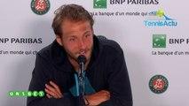 """Roland-Garros 2019 - Lucas Pouille : """"Je sais où j'en suis, tout ne vous regarde pas mais je sais où j'en suis !"""""""