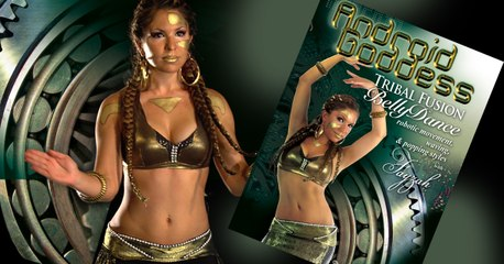 Android Goddess: Tribal Fusion Bellydance, Robotic Movement, Waving & Popping Styles, with Fayzah - Trailer
