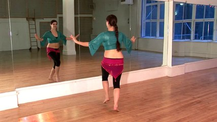 Bellydance Basics and Beyond, with Jenna - beginner belly dance - Trailer