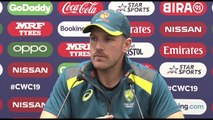 Australia's Aaron Finch pre Afghanistan
