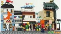 Cu Ti construir uma cidade lego #2 - montar lojas que vendem flores frescas