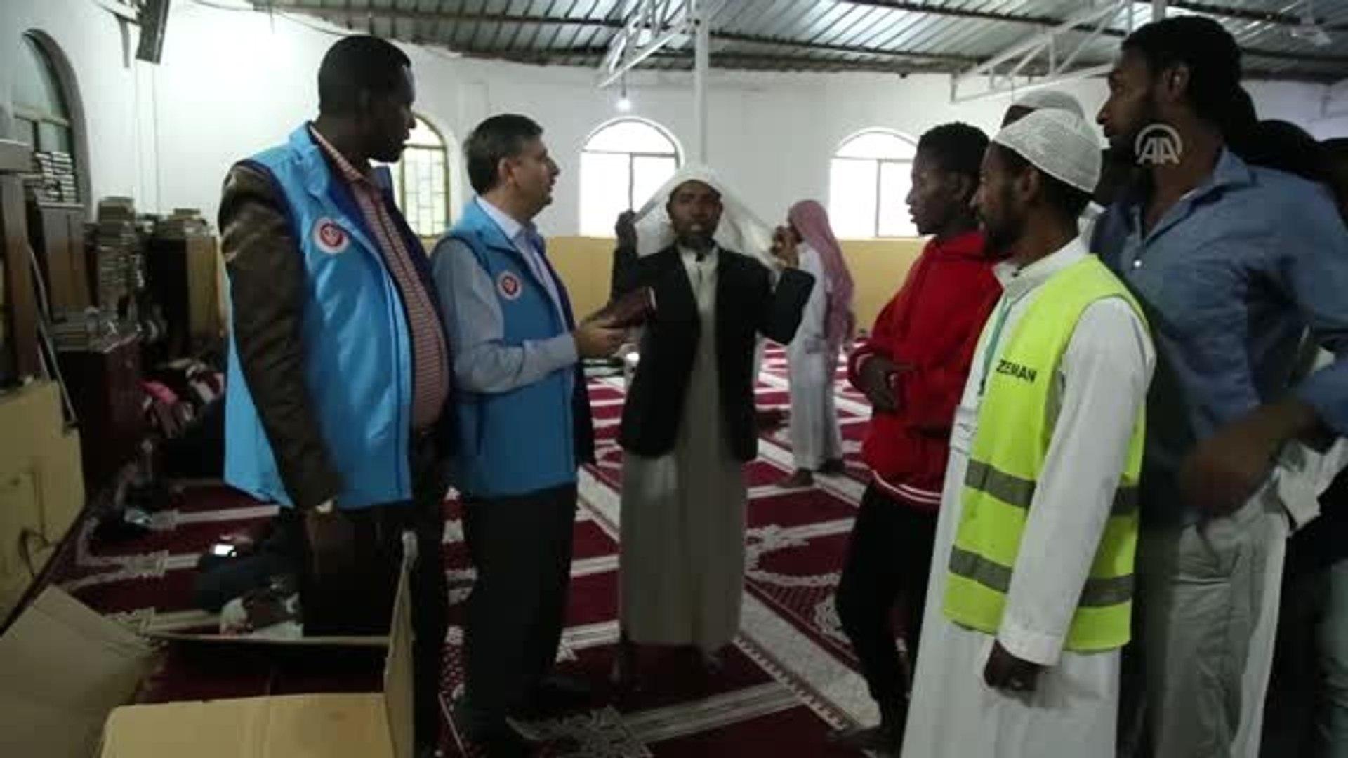 TDV Etiyopya'da Amharca mealli Kur'an-ı Kerim dağıttı - ADDİS ABABA