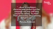 Pamela Anderson Defends Julian Assange in Op-Ed: 'Don't Blame Julian for Your Own Defeat'