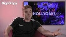 Hollyoaks star Parry Glasspool on Harry Thompson's baby twist