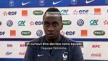 """Coupe du monde de football féminin  : """" On est à fond derrière elles"""" - Blaise Matuidi"""