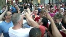 Jurgen Klopp lookalike mobbed by Liverpool fans in Madrid ahead of UCL final