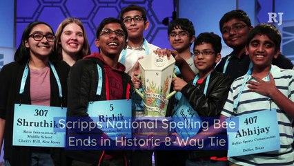 Scripps National Spelling Bee Ends in Historic 8-Way Tie
