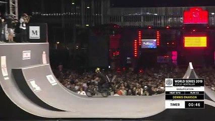 Dennis Enarson | 1st place - BMX Freestyle Spine Ramp Pro Qualifiers | FISE Montpellier 2019