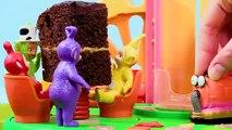 Teletubbies Celebrate Noo-Noo's Birthday   Teletubbies Toy Play Video   Play games with Teletubbies