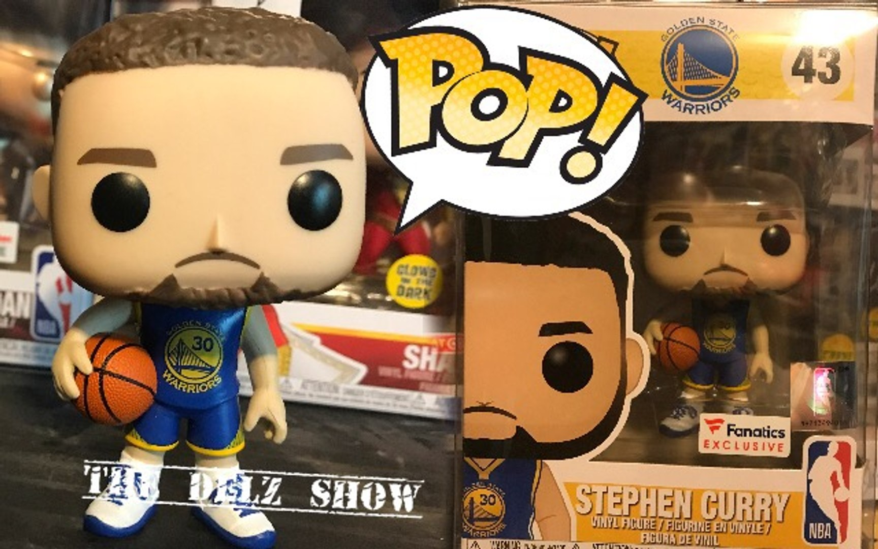 quality design 3a5cd 43f5d Steph Curry Golden State Warriors Funko Pop Fanatics NBA Exclusive Detailed  Look Review