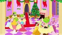 Vive Le Vent-  Chanson de Noel  avec Cendrillon-Raiponce-Le petit Chaperon Rouge-les