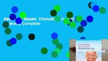 About For Books  Clinically Oriented Anatomy Complete