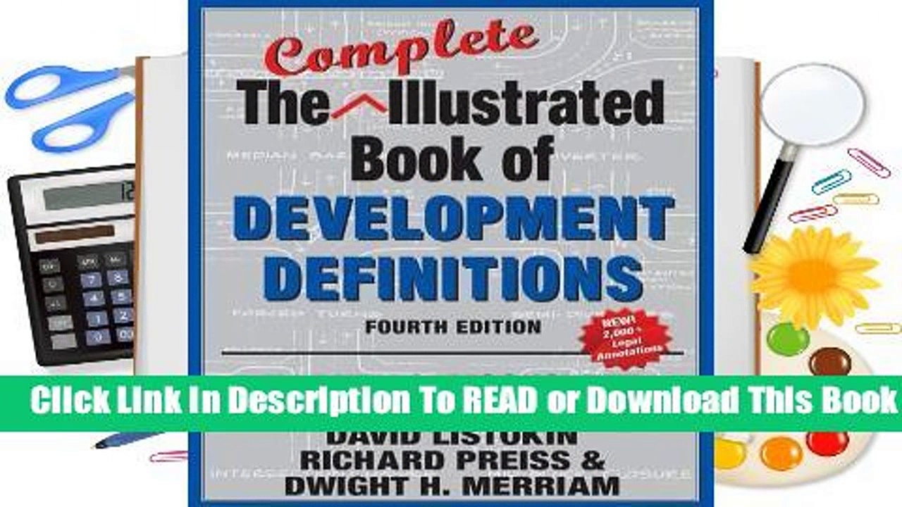Online The Complete Illustrated Book of Development Definitions  For Trial