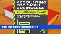 Accounting for Small Businesses QuickStart Guide: Understanding Accounting for Your Sole