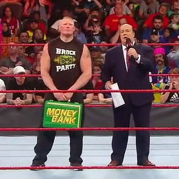 Brock Lesnar learns an important Money in the Ba