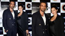 Arjun Rampal attends The Final Call Success party with pregnant GF Gabriella; Watch video  FilmiBeat