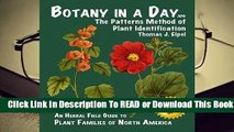 Online Botany in a Day: The Patterns Method of Plant Identification  For Free