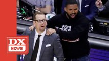 NBA Talks To Toronto Raptors About Drake's Sideline Presence Ahead Of Finals