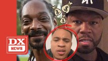 """Snoop Dogg Offers To Pay 50 Cent The $300,000 Dollars Owed To Him By """"Power"""" Co-Star Rotimi"""