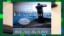 Online Spiritual Leadership: Moving People on to God's Agenda, Revised and Expanded  For Full