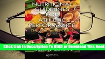 Full E-book Nutritional Guidelines for Athletic Performance: The Training Table  For Free