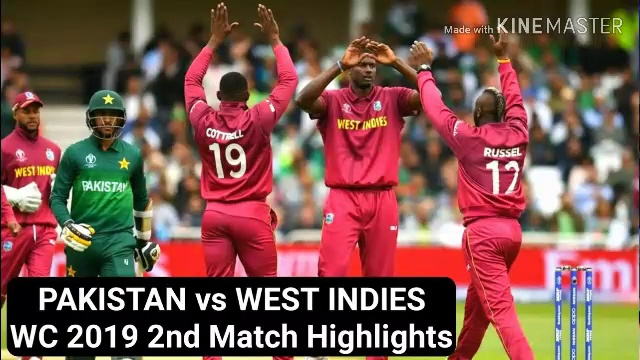 PAK vs WI 2019 world cup highlights