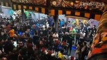 Nam Pattaya, tỉnh Chon Buri, Thailand rạng sáng 01/06/2019: Cảnh sát hoàng gia Thái đột kích 2 quán bar ( Brazil Pub Pattaya ), tạm giữ hơn 150 người, tịch thu nhiều chất nghi ma túy và vũ khí: Tại Brazil Pub Pattaya