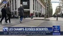 Gilets jaunes: les Champs-Élysées désertés par les touristes