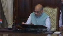 Home Minister Amit Shah ने संभाला पद, Article 370, NRC बड़ी चुनौती   वनइंडिया हिंदी