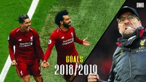 Just Look At These Goals from Mo Salah - Sadio Mane in 2019