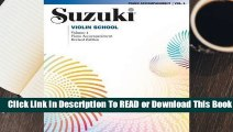 Online Suzuki Violin School, Volume 1: Piano Accompaniment  For Free