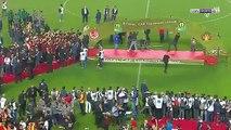 Ligue des champions CAF: Scène complètement dingue lors de la finale retour de la Ligue des Champions entre l'Espérance et le Wydad