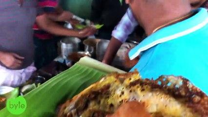 Tirupathi Egg Dosa Making | Amazing Indian Street Food | Hardcore Street Food