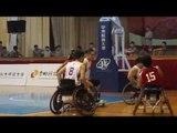 影/全民中州盃分齡籃球賽開幕 輪椅組比賽首度登場