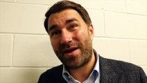'YOU GET THE TRUTH ON TUESDAY' - EDDIE HEARN COY ON WILDER/DAZN, FARMER/TAYLOR, WHYTE, YARDE-KOVALEV