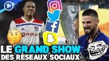Le message énigmatique de Depay, Giroud trolle Arsenal, Beckham rejoue avec MU : le Grand Show des Réseaux Sociaux