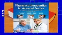 Popular Pharmacotherapeutics for Advanced Practice: A Practical Approach - Virginia Poole Arcangelo