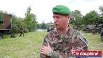 Le colonel Olivier Pinard-Legry, chef de corps du 1er REG