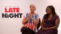 Late Night: Emma Thompson & Mindy Kaling, Emma On What They Liked Most About The Script