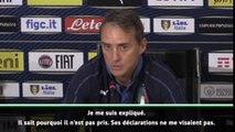 Italie - Mancini : ''Les propos de Mario Balotelli ne me visaient pas''