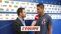 Varane «Continuer à progresser avec le Real» - Foot - Bleus
