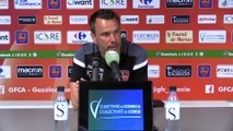 GFCA / LMFC : le point presse du coach H. Della Maggiore avant le match retour