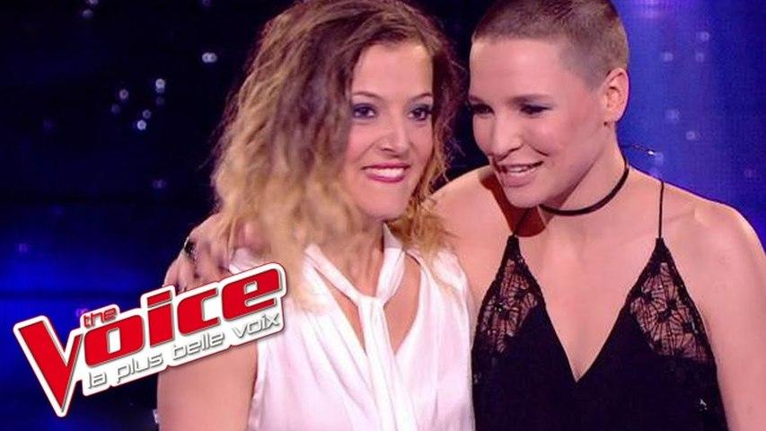 Céline Dion – Destin   Anne Sila & Camille Lellouche   The Voice France 2015   Demi-Finale