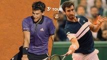 Roland-Garros 2019 : Le résumé du match Dominic Thiem - Pablo Cuevas