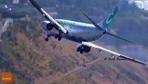 Ce pilote d'avion va avoir beaucoup de mal pour poser son boeing... Impressionnant